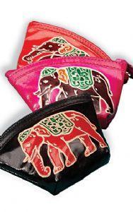 Hippy Purse~Coin Purse Ethnic Leather Elephant Design Purse~Fair Trade by Folio Gothic Hippy CR7