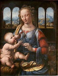 Leonardo da Vinci Madonna of the Carnation.jpg