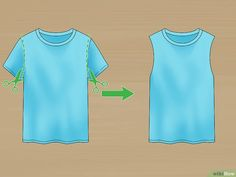 Image intitulée Cut a Tshirt Cute Step 2
