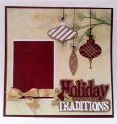 Cricut Creative Memories Tis the Season cartridge