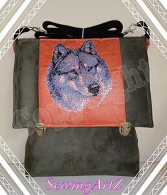 Wolf Photostitch Embroidery
