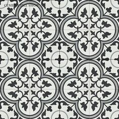Cement Tile Shop - Encaustic Cement Tile Floret