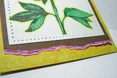 Torn Edge Tutorial & Tearing Cardstock for your Card by Rose Ann Reynolds