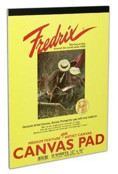 Fredrix 3501 Canvas Pads,