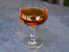 Remember the Maine - Rye Whiskey, Sweet Vermouth, Cherry Heering, Absinthe.