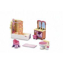 Fisher Price Loving Family Dollhouse Furniture Set   Bathroom