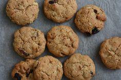 Łatwe ciasteczka z orzechami (bez mleka i jajek)