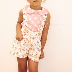 Tiger-Lily Suspender Shorts