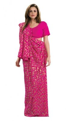 Deguisement Sari rose