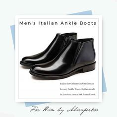 Men's Ankle Boots  Italian Leather  #Aliexpress found by #Aliexpertos - Enjoy this gentleman luxury ankle boots italian made in 2 colors for casual or more formal look. - Buy Link: http://ift.tt/2xU2fOS - Buy Direct Link: http://ift.tt/2jN1fpC - Price Per Piece: $16915 USD - Free Shipping worldwide! - For more products like these please visit link in Profile. - Aliexpertos.com - #trillestoutfit #menwithclass #menwithstyle #gentleman #chelseaboots #ankleboot #genuineleather #mensboots…
