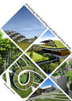 20 Must-See Buildings that have Breathing Lush Walls and Green Roofs - DZZYN2