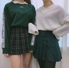 Korean Fashion|Green @oliwiasierotnik