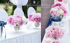 Znalezione obrazy dla zapytania dekoracje weselne z piwonii