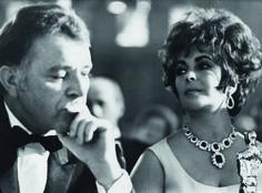 Elizabeth Taylor and Richard Burton....Uploaded By www.1stand2ndtimearound.etsy.com