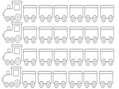 Teaching Phonics, Teaching Music, Train Template, Quiet Book Templates, Name Activities, Greek Alphabet, Cut And Paste, Lower Case Letters, Projects For Kids