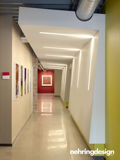 This would be awesome for a school hallway.
