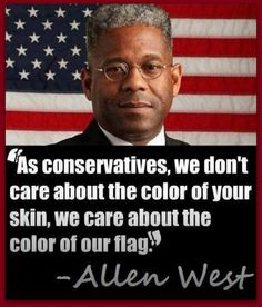 Love Allen West, God bless you Col. West You need to be promoted to General Sir... DW