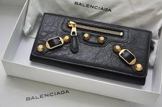 Balenciaga Giant Gold Money Wallet