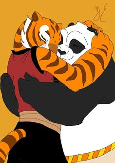 182 Best Po And Tigress Images On Pinterest Po And Tigress Kung