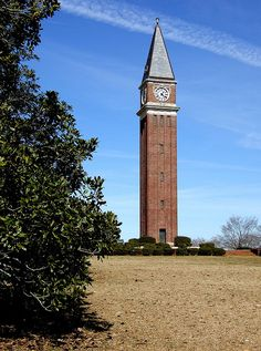 The Callaway Memorial Tower is a monument to textile magnate Fuller E. Callaway. It was built in 1929 and is patterened after the Campanile of St. Mark's Square in Venice, Italy.