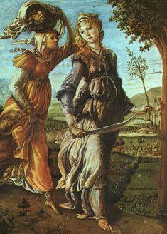 1472: Sandro Boticelli,Return of Judith to Bethulia
