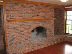Wood Burning Fireplace