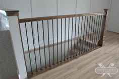 This staircase banister is undeniably an interesting design theme. Wall Railing, Staircase Railings, Banisters, Staircase Design, Banister Ideas, House Staircase, Iron Staircase, Stair Design, Staircase Ideas