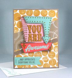 Marquee Messages and Serene Scenery DSP by Stampin' Up! – Original creation by Cindy Major