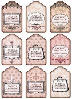 Sheet shabby handmade pink | ~Shabby chic | Nostalgie & Brocante