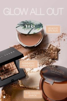Get your glow on! From a beachy bronzer to a shimmery highlighter, it's all about that glow-from-within look. Click to shop Macy's for the best sun-kissed beauty products.