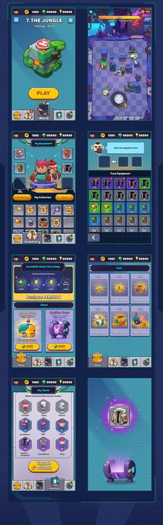 Game Ui Design, Layout Design, Icon Design, Game Icon, Game Concept, Character Design Animation, Game Assets, Mobile Game, Game App