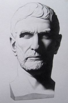 The Brutus from Bargue Drawings 20x30 cm by GranbergStudios, $500.00