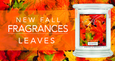 Leaves of many colors, shapes & sizes, woody sweet aromas, citrus and spice blend this collage of candied foliage.