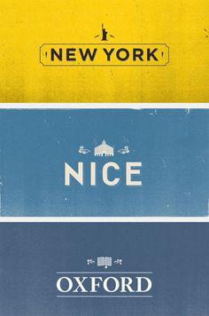 40 World City Typographic Logos