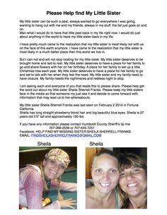 PLEASE SHARE!!!!!! PLEASE SHOW SHEILA'S BOYS PEOPLE DO CARE AND WANT TO HELP FIND THEIR MOM Fortuna California, Just Go, Thats Not My, Humboldt County, Little Sisters, My Friend, Mom, People, My Boyfriend