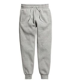 Sweatpants   Gray melange   MEN   H&M US