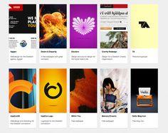 Grid Layout Portfolio Page with Vertical Thumbnails from Tobias Bjerrome Ahlin › PatternTap Interaktives Design, Sound Design, Grid Layouts, Web Layout, Ui Inspiration, Tobias, App Ui, Content, Tv