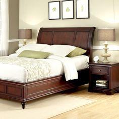 Lafayette Sleigh 2 Piece Bedroom Set Size: King - http://delanico.com/bedroom-sets/lafayette-sleigh-2-piece-bedroom-set-size-king-589935578/