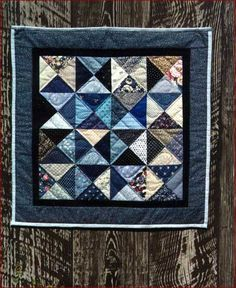Country Charm Quilt Pattern. Would make a cute quick table topper.