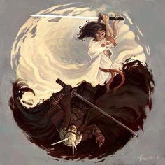 ♥ Yin & Yang battle of good and evil