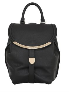 SEE BY CHLOÉ - LIZZIE GRAINED LEATHER BACKPACK - LUISAVIAROMA - LUXURY SHOPPING WORLDWIDE SHIPPING - FLORENCE