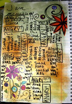 Multiple Sclerosis JOURNAL IT!!: ART JOURNAL PAGES