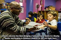 A Bronx Librarian Keen on Teaching Homeless Children a Lasting Love of Books - The New York Times Human Kindness, Lasting Love, Faith In Humanity Restored, Good Deeds, Good People, Amazing People, Life Is Beautiful, Fun Facts, Random Facts