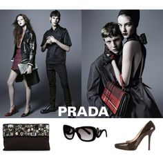 Prada dreams by cat-forsley on Polyvore featuring Prada, shoes and sunglasses
