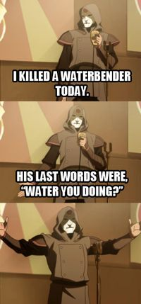 """""""That's just cold, Amon."""" I guess you can say it was ice cold?"""