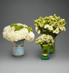 Hydrangea, Petite Arabicum, and Lisianthus Trio   L'Olivier Floral Atelier