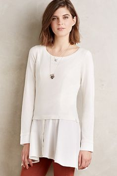 Pavilion Pullover #anthropologie