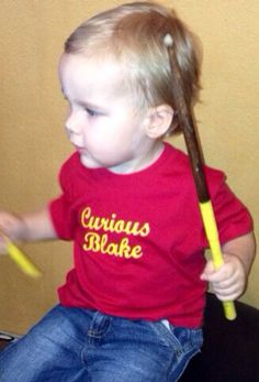 Personalized Curious George shirt