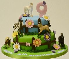 If you know a little girl who loves #Horses, you've just found the perfect #Cake for her #Birthday! #BirthdayCakes