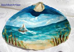Seashell painting ideas, Summer DIY Crafts, seashell painting, sea shell painting, painting seashells, summer diy, diy seashell, Mary Tardito channel, DIY Hobby and Lifestyle, crafts ideas, recycled crafts ideas, seashell drawing, seashell art, shell art ideas, painted shells, hand painted seashell, seashell crafts, shell art projects, sea shell projects, shell arts and crafts, shell craft ideas, shells artwork, artwork with shells